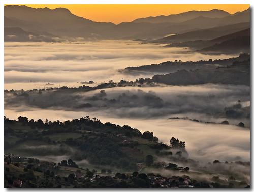 Cascadas de niebla