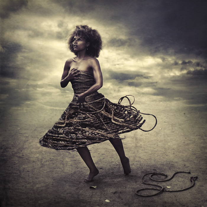 rope that binds can also fall photo by brookeshaden