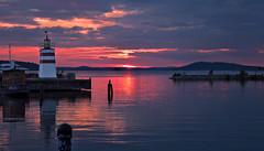 Sunset on the lake Vesijärvi (Explored Jan 26, 2015 #4) photo by L.Lahtinen