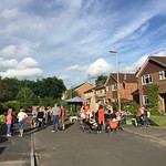 Street party for the queens 90th<br/>12 Jun 2016