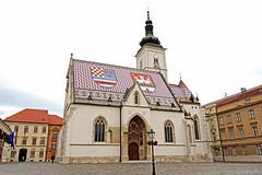 Croatia-00534 - St. Mark's Church photo by archer10 (Dennis) REPOSTING