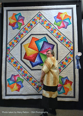 Winners of the Heart of the Valley Quilt & Textile Art Show photo by CBAphotographs