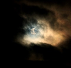 Early Eclipse photo by darkprince66 (Tug Chasing Super Hero :D)