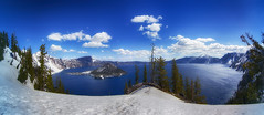 Crater Lake and Wizards Island photo by cosmosvortex_2006
