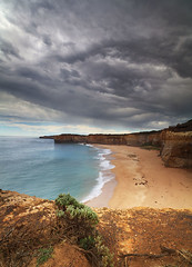 A beach somewhere on the Great Ocean Road photo by angus clyne