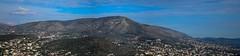 Panoramic view of Panio mountain photo by kutruvis nick