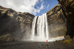Skógafoss photo by DavidIanJohnson