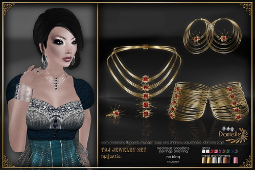 DANIELLE Taj Jewelry Set Majestic