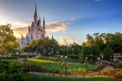 Magic Kingdom - Rose Garden Sunset photo by SpreadTheMagic