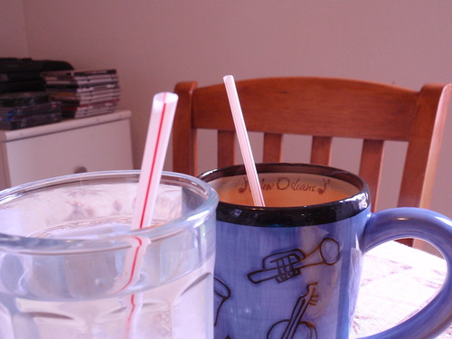 Straws for Breakfast!