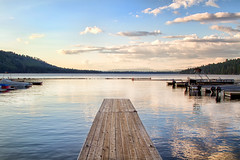 Dock on Fallen Leaf Lake {EXLORED} photo by Sierra Springs Photography