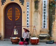 Hanoi . Soup vendor photo by Marco Sarli
