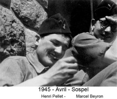 BM 4 Chambarand - 1945 Avril_Sospel_Henri Pellet_MarcelBeyron - Fonds Emile Gauthier