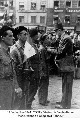 BM 4- Chambarand - 1944 14 Septembre -  Marie Jeanne - Fonds Emile Gauthier