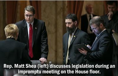 Shea Floor Meeting