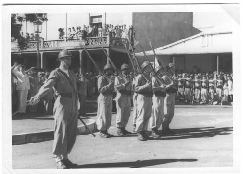 BP- 1946 - La nouvelle garde du fanion Fonds Jean Tranape