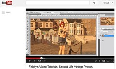 Felicity's Video Tutorial: Second Life Vintage Photos photo by Felicity Blumenthal