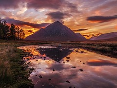 Buachaille Etive Mor at Sunset photo by Bathsheba 1