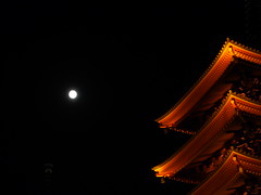 中秋の名月 photo by Neconote