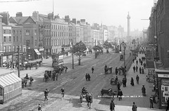 Lovely lamp posts photo by National Library of Ireland on The Commons