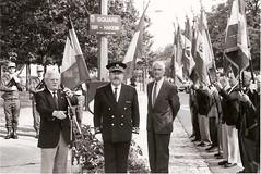 Inauguration du square Bir Hakeim á Bourges, 10 juin