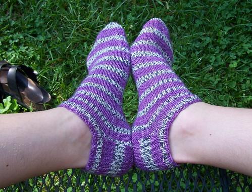 stripey anklets
