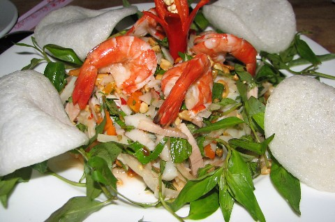 Mango salad-petro hotel- river side restaurant