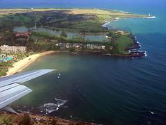 Landing in Lihue / Kauai