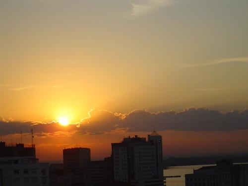 Sunset in Porto Alegre I