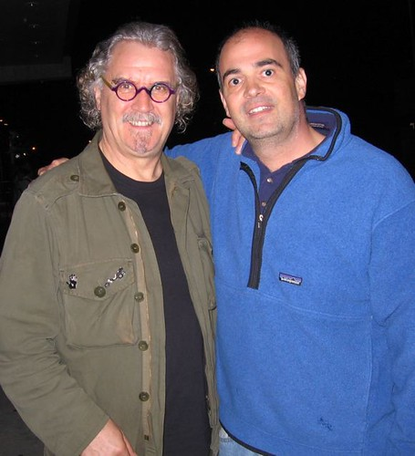 Me and Billy Connolly (google him)
