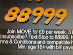 advert for animated screensaver 4 ur mobi on C4