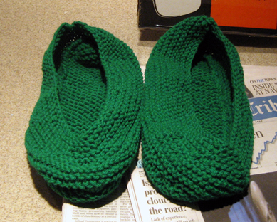Slipper Socks Unfelted