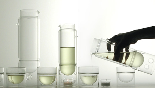 Float Glassware, Molo Design, Green Design