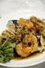 海老とイカのブラックペッパーソース 海南鶏飯食堂 六本木 東京