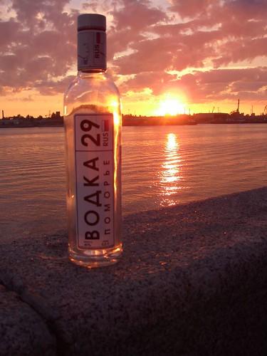 Местная водка \ Local vodka