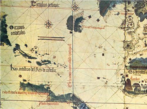 Planisferio de Alberto Cantino