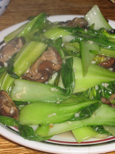 Stir Fried Veggies and Chinese Mushrooms