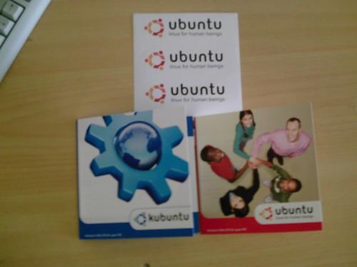 CD Shipit Ubuntu et Kubuntu Dapper Drake