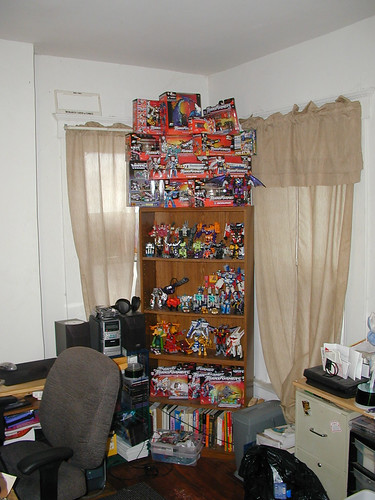 My Transformers collection circa 2002.