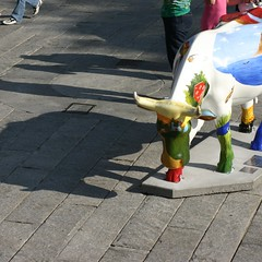 Cow Parade at Boston Quincy Market