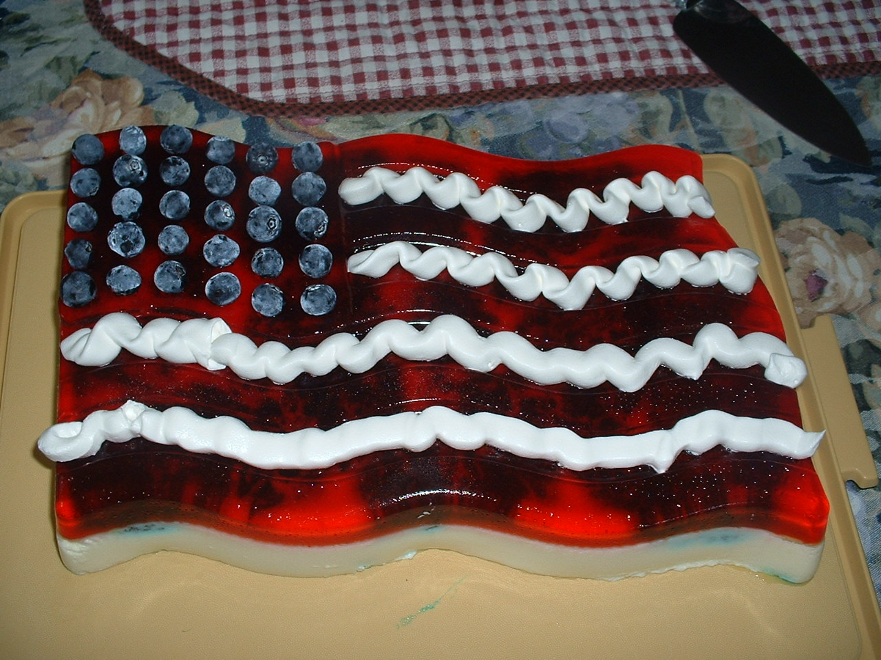 Jello Mold Flag