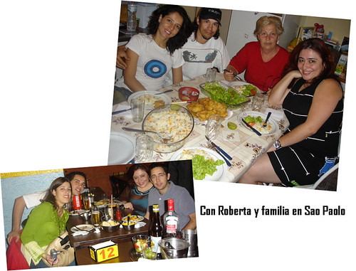 roberta y familia en Sao Paolo