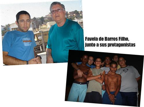 Junto a los que la viven (Favela Barros Filho)