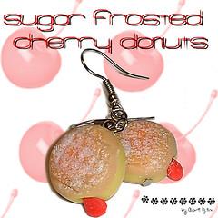 cherry donuts