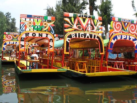 Xochimilco et ses jardins flottants le voyage de for Jardin xochimilco