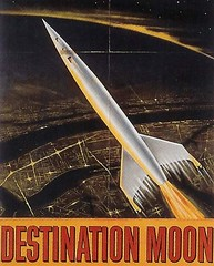 destination moon detail