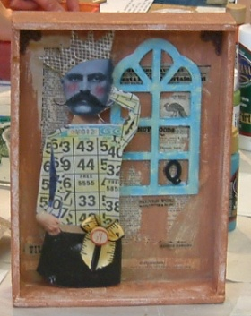 Cigar box collage