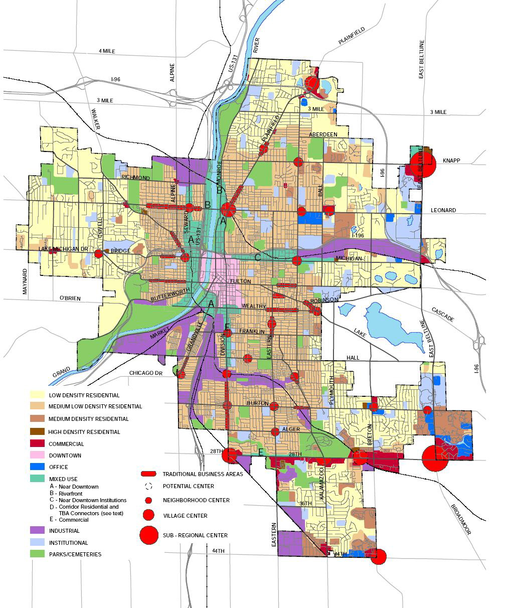 Michigan City Zoning Maps Michigan UrbanPlanetorg