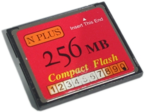 Failed N Plus Compact Flash Card