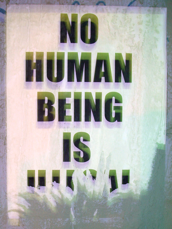 No Human Is
